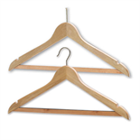 Northmace Wooden Coathangers - President (Brass)