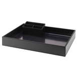 Hotel Leatherette Tray Set