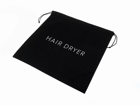 Hotel Hairdryer Bag - Black